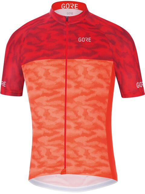 GORE WEAR C3 Cameleon maglietta a maniche corte Uomo arancione/rosso